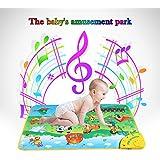 GoolRC Bunte musikalische Lernen Mat Animal Farm Flash Music Teppich Blanket Touch Toy für Baby Kind 71 * 49 cm