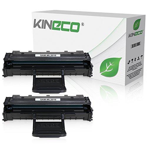 2 Toner kompatibel zu Samsung MLT-D119 für Samsung ML-2010, ML2015, ML-2020, ML-2510, ML-2520, ML-2570 - Schwarz je 3.500 Seiten