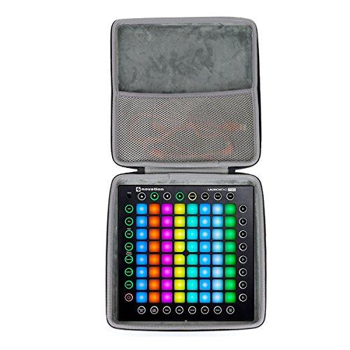 Duro Viaggio Caso Copertina per Novation NOVLPD03 Launchpad Pro Professional 64-pad griglia performance strumento di co2CREA