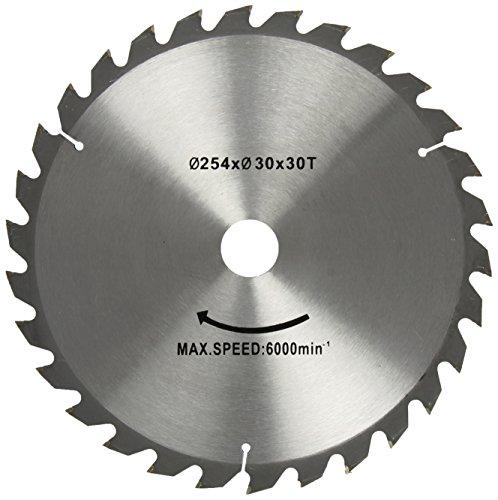 Preisvergleich Produktbild Scheppach Kreissägeblatt 254/30 mm, Z 30, WZ für Kapp-Zugsäge, 3901102701