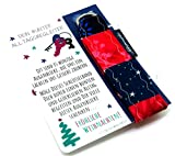 Lieblingsmanufaktur Farbenfroher Schlüsselanhänger als kleines Weihnachtsgeschenk für Kollegen - individuelles Mitbringsel Weihnachten für Frauen - Kleinigkeiten zum Freude schenken im Advent