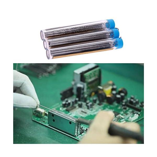 YouN 3 piezas / lote de alambre de estaño portátil para soldar bolígrafos