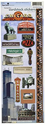 Paper House Productions Chicago Cardstock Sticker Sheet