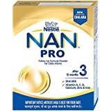Nestlé NAN PRO 3 Follow-Up Formula-Powder (After 12 months), Stage 3- 400g Bag-In-Box Pack