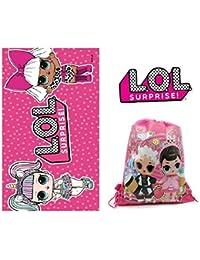 Toalla LOL Surprise - algodón - Bolsa de Playa LOL