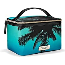 Neceser con asa Victoria's Secret Blue Palm Trees