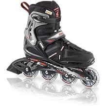 Rollerblade 73114Spark Comp–Patines en línea para hombre, color negro/rojo, - 741 Nero/Rosso, 45.5