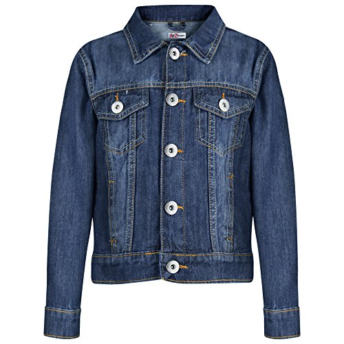 A2Z 4 Kids Kids Boys Jacket Designer's Denim Style Stylish Fashion Trendy Jeans Jackets Coats New Age 3 4 5 6 7 8 9 10 11 12 13 Years
