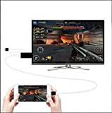 FomCcu 2M HDMI Video Converter Component AV Connector Cable for iPhone iPad Mini to HDTV 5A 12V