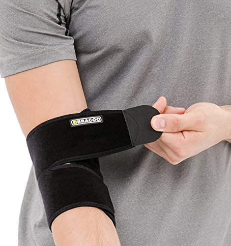 bracoo-breathable-neoprene-elbow-support-easy-adjustable-wrap-for-injury-recovery