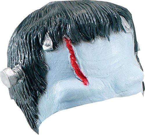 Kostüm Kreatur Frankenstein's - Bristol Novelty MD034Frankenstein Kopfbedeckung, Schwarz/Blau/Rot, One size