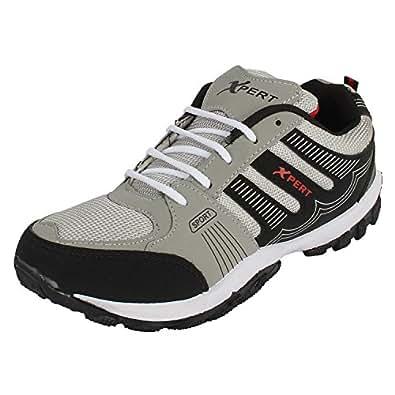 Earton Men's Grey Running Shoes - 7 UK/India (41 EU)(ORIFWSH-251)