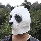 Wooya Halloween Animal Coiffure Simulation Latex Panda Masque...