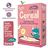 Slurrp Farm Nutritious Baby Cereal | Wholewheat, Ragi, Oat, Banana and Apple