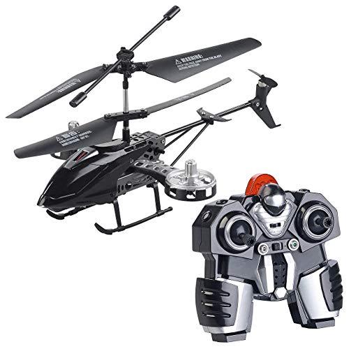 Simulus RC Helikopter: Ferngesteuerter 4-Kanal-Mini-Hubschrauber mit 5 Rotoren und Gyroskop (RC Hubschrauber)