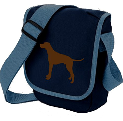 Bag Pixie - Borsa a tracolla unisex adulti Brown Dog Blue Bag
