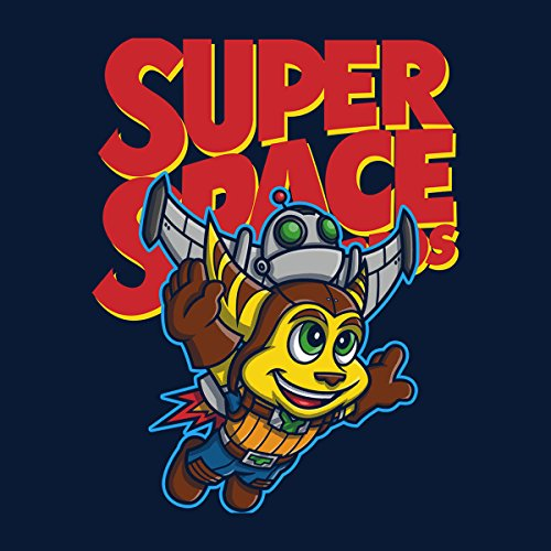 Cloud City 7 Super Space Bros Ratchet and Clank Men's T-Shirt