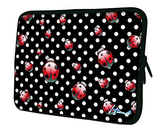 7.9Design ipad Mini/iPad Mini 2/iPad Mini 3Custodia morbida Borsa Pelle. Vestibilità perfetta. Diversi modelli disponibili. (parte 1di 3) Polka dots & Ladybugs