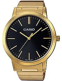 Casio Collection - Montre Unisexe Analogique avec Bracelet en Acier Inoxydable - LTP-E118G-1AEF