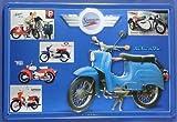 Blechschild Harleyville Simson DDR Ostalgie Ostprodukt Motorrad Nostalgieschild Schild