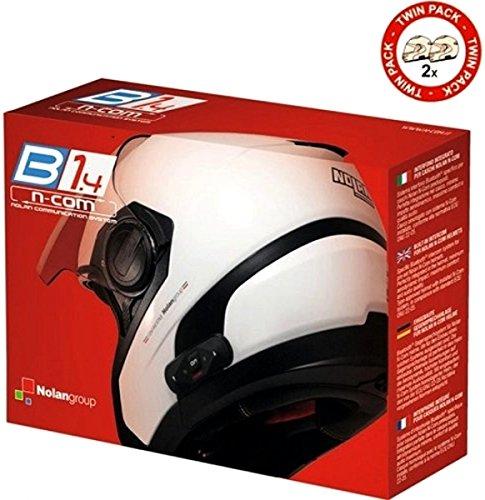 Nolan N-Com - Intercomunicador para moto, Bluetooth, para B1.4 TWIN N104 Absolute/N104...