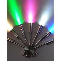 GOUD Lampada da parete 7W moderna luce a led con Light Scattering ventaglio 7 Metal Sticks stile chic , multi color