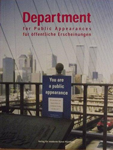 Department für öffentliche Erscheinungen: for Public Appearances