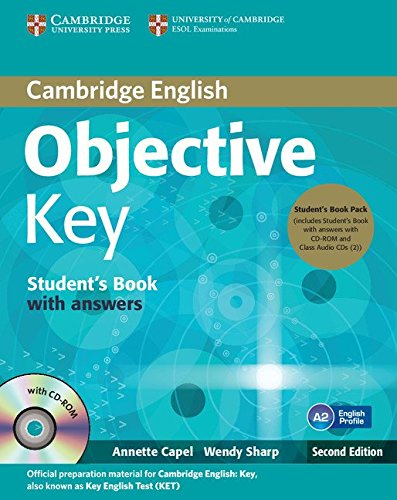 Objective Key 2nd Student's Book Pack (Student's Book with Answers with CD-ROM and Class...