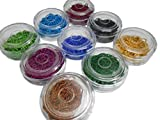 #10: Ball chains for jewellery making, set of 9 colours