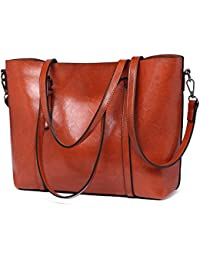 a9b5aa2b12ba57 Miss Lulu Ladies Handbag Purse Pu Leather Adjustable Top Handle Shoulder  Bags for Women