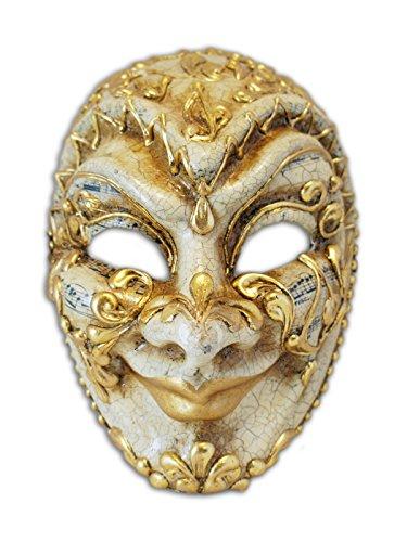 ske Volto Jester Musica für Männer (gold) (Musicas De Halloween)