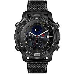 H-sunshy LEM6 Reloj Inteligente, Lemfo LEM 6 Compass Impermeable Android 5.1 1G + 16G Teléfono SmartWatch