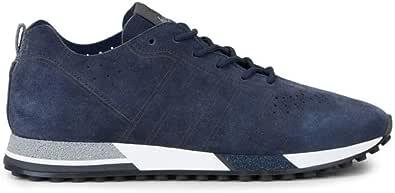 Hogan Sneakers Uomo H383 Blu in camoscio - HXM4820CM30 I9SU801 - Taglia