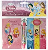 Anniversaire Kermesse - Pack 2 Bloc-Notes + 1 Stylo - Disney Princess