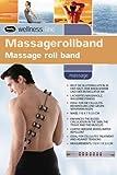 Massagerollband Rücken aus Holz mit Kunststoffnoppen Bild