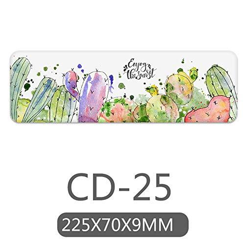 ZCHPDD Diatom Mud Absorbent Pad Hand Soap Creative Fresh Bathroom Soap Mat Anti-Scalding Absorbent Mat Cd-25 22.5 * 7Cm*4Pcs -