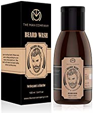 The Man Company Beard Wash For Smoothening- Argan & Geranium (100 Ml)   Made in I