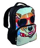 Highlander Rucksack Hund mit Sonnenbrille
