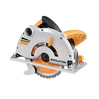Evolution Power Tools RAGE1-B Multi-Purpose Circular Saw, 185 mm (230 V)