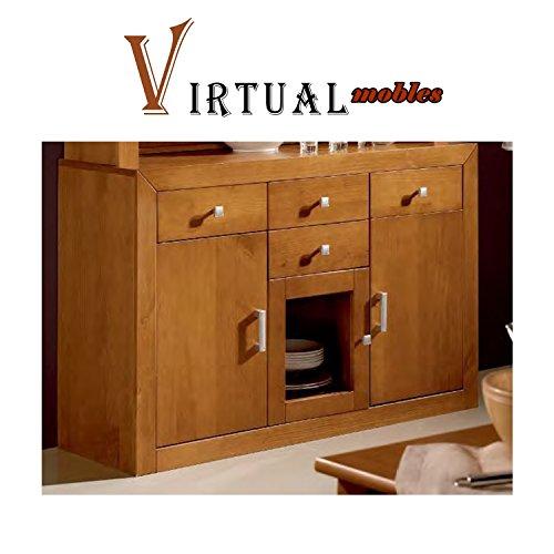 Opiniones aparador 3 puertas madera color cerezo r kyn - Muebles banak opiniones ...