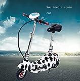 Faltende Dame Mini Elektroauto Elektro-Roller Elektro-Fahrrad Mini Motorrad,B,12 Zoll)