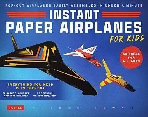 Instant Paper Airplanes for Kids por Andrew Dewar