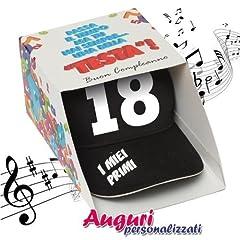 Idea Regalo - Bombo Berretto Musicale 18anni Regalo Divertente Festa umoristico