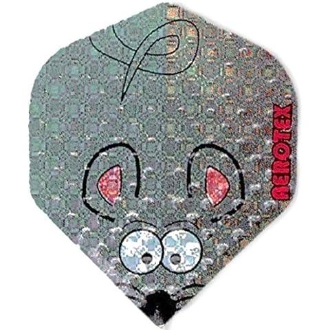 3pezzi Aerotex metallizzato Fly il mouse _ 77
