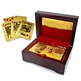 Gold Folil Playing Card and Attractive Playing Card Case for Diwali Gifts