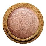 ZAO Cream Eyeshadow 251 kupfer-rosa cremiger Lidschatten, 'Multi-Touch' als Rouge, Lippenstift, Korrektor, nachfüllbare Bambus-Dose (bio, Ecocert, Cosmebio, Naturkosmetik)