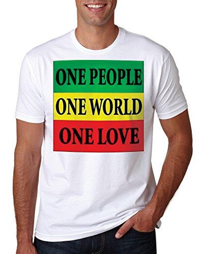LuckyTshirt Rasta Shirt T Reggae Bob Marley Jamaica Top Lion Weed peace Tee Dope Love Funny Mens Music Tie Dye Judah - S (T-shirt Tie Dye Rasta)