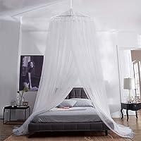 Aerb Moskitonetz Bett, Groß Mückennetz inkl. Montagematerial, Betthimmel, Mückenschutz, MoskitoschutzF, Fliegennetz auch…