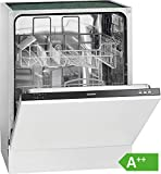 Bomann GSPE 892 Einbau-Geschirrspüler/vollintegriert / 60 cm/EEK A++ / 12 MGD / 5 Programme / 258 kWh/Jahr / Bedienblende schwarz