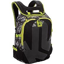K2 niños mochila Junior Varsity Pack Boys, negro/verde, 44,5 x 23,5 x 35,0 cm, 18 litros, 3051004,1,1,1